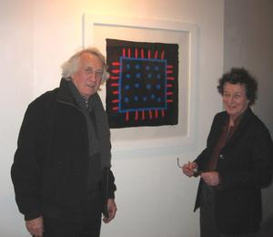 Brian Rice and Bridget Riley at Artizan Editions exhibition