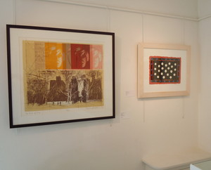 Richard Walker and Brian Rice serigraphs at Belgrave St. Ives Gallery